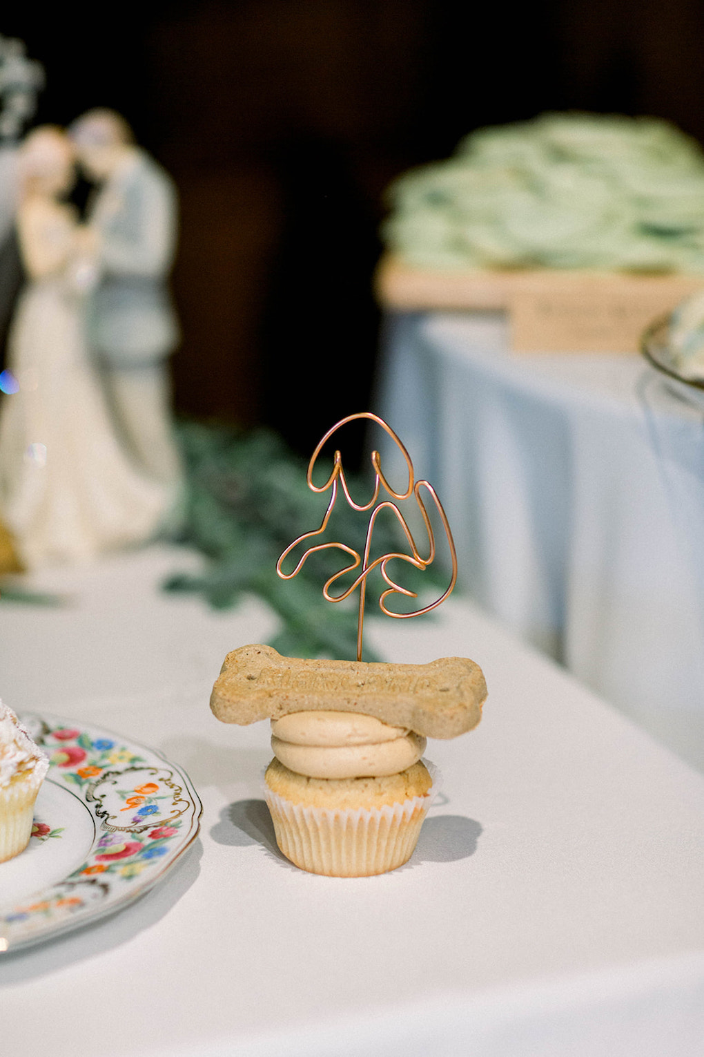 Ways to incorporate your dog on your wedding day: Pittsburgh Botanic Garden wedding planned by Exhale Events. See more wedding inspiration at exhale-events.com!