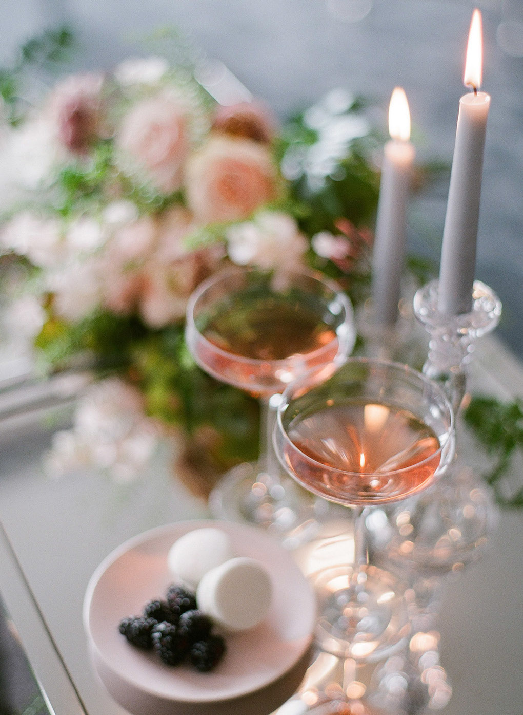 Wedding toast ideas: Soft and Subtle Palettes of Spring Blossoms | Editorial Shoot at The Renaissance Pittsburgh by Exhale Events. See more inspiration at exhale-events.com!