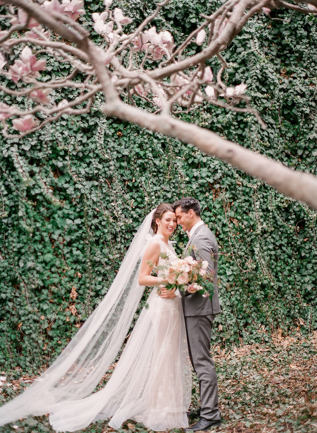 Romantic Wedding Photos in Downtown Pittsburgh:Soft and Subtle Palettes of Spring Blossoms | Editorial Shoot at The Renaissance Pittsburgh by Exhale Events. See more inspiration at exhale-events.com!