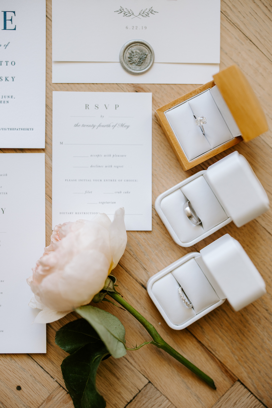 Unique ring shots: Elegant and Classic Garden Wedding planned by Exhale Events. See more at exhale-events.com!