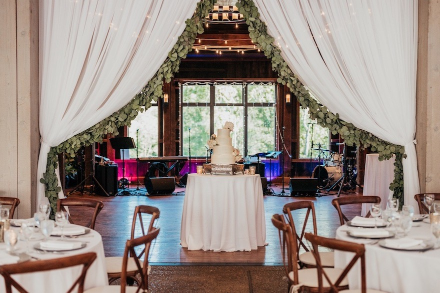 Pittsburgh Botanic Garden Wedding Barn: Elegant and Classic Garden Wedding planned by Exhale Events. See more at exhale-events.com!