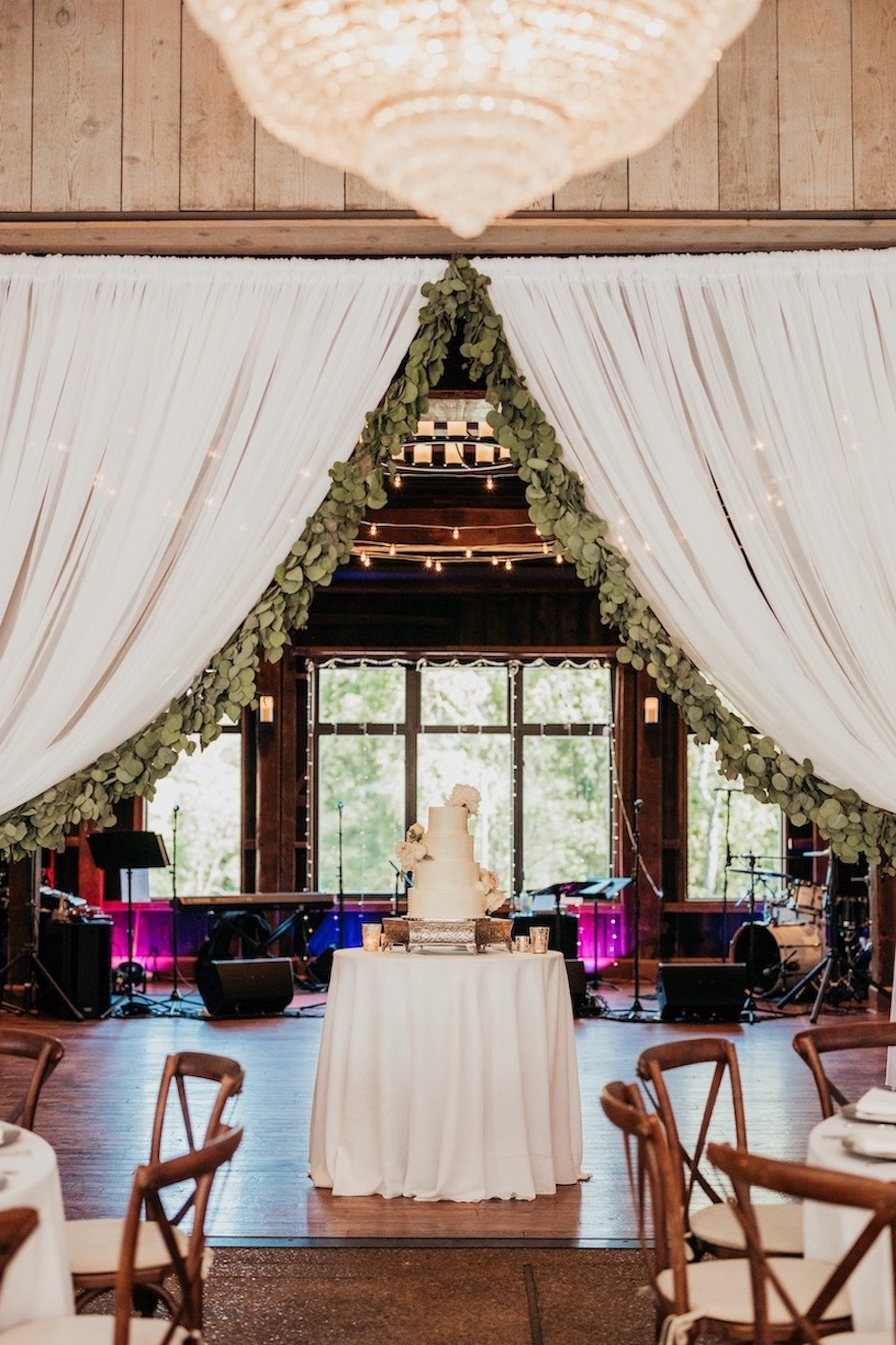 Beautiful barn shot of the Pittsburgh Botanic Gardens: Elegant and Classic Garden Wedding planned by Exhale Events. See more at exhale-events.com!
