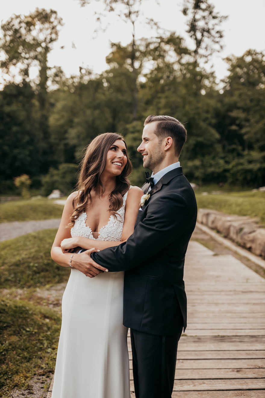 Wedding photos at pittsburgh botanic gardens: Elegant and Classic Garden Wedding planned by Exhale Events. See more at exhale-events.com!