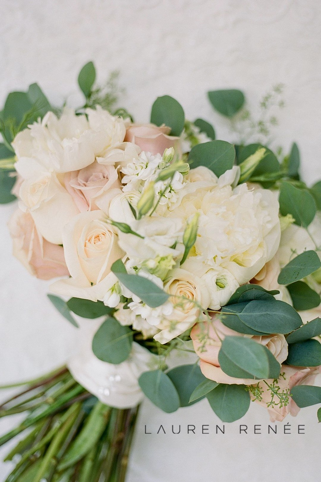 Romantic blush wedding bouquet: Romantic Blush Wedding at the Pittsburgh Field Club planned by Exhale Events. See more at exhale-events.com!