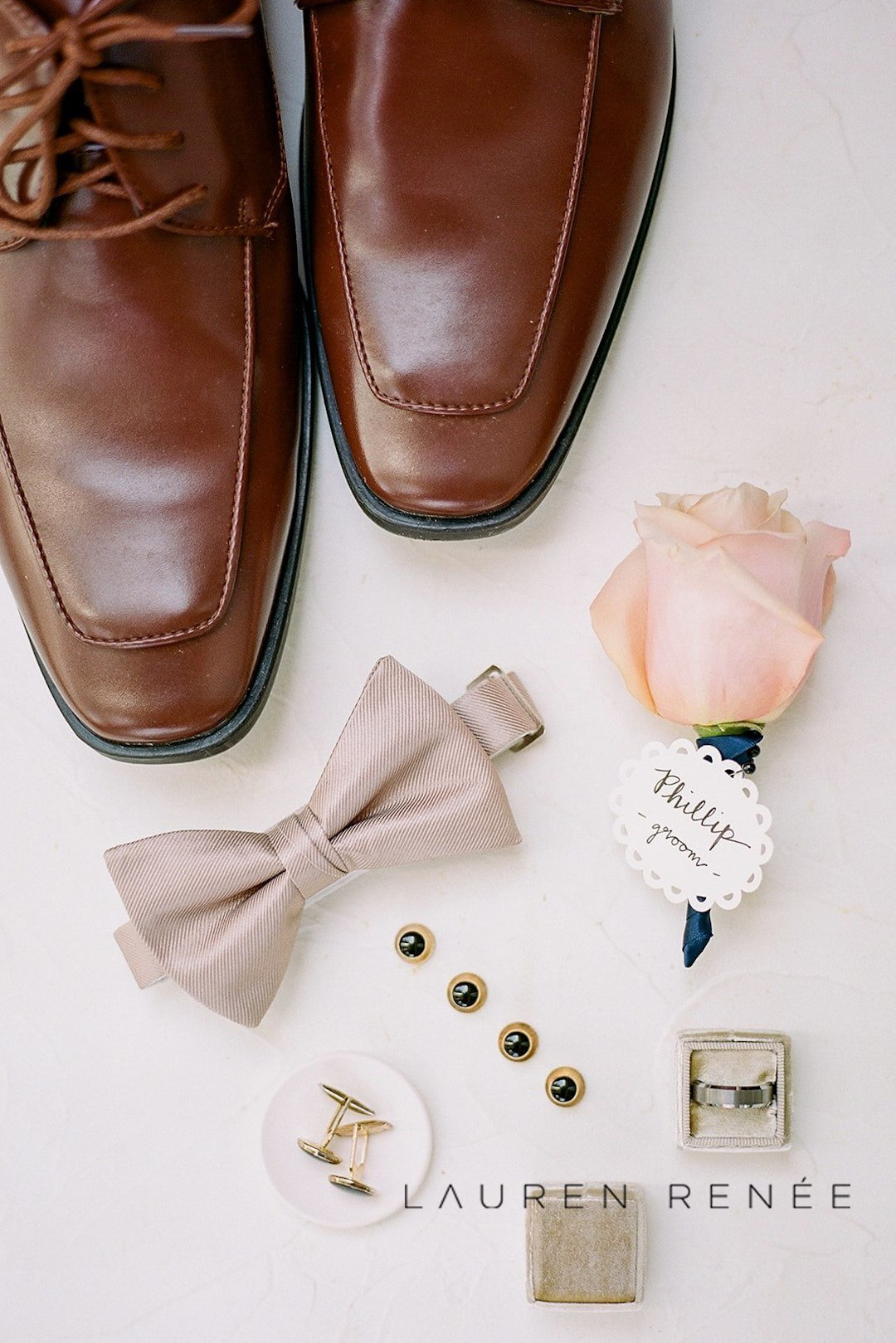 Groom detail shot: Romantic Blush Wedding at the Pittsburgh Field Club planned by Exhale Events. See more at exhale-events.com!