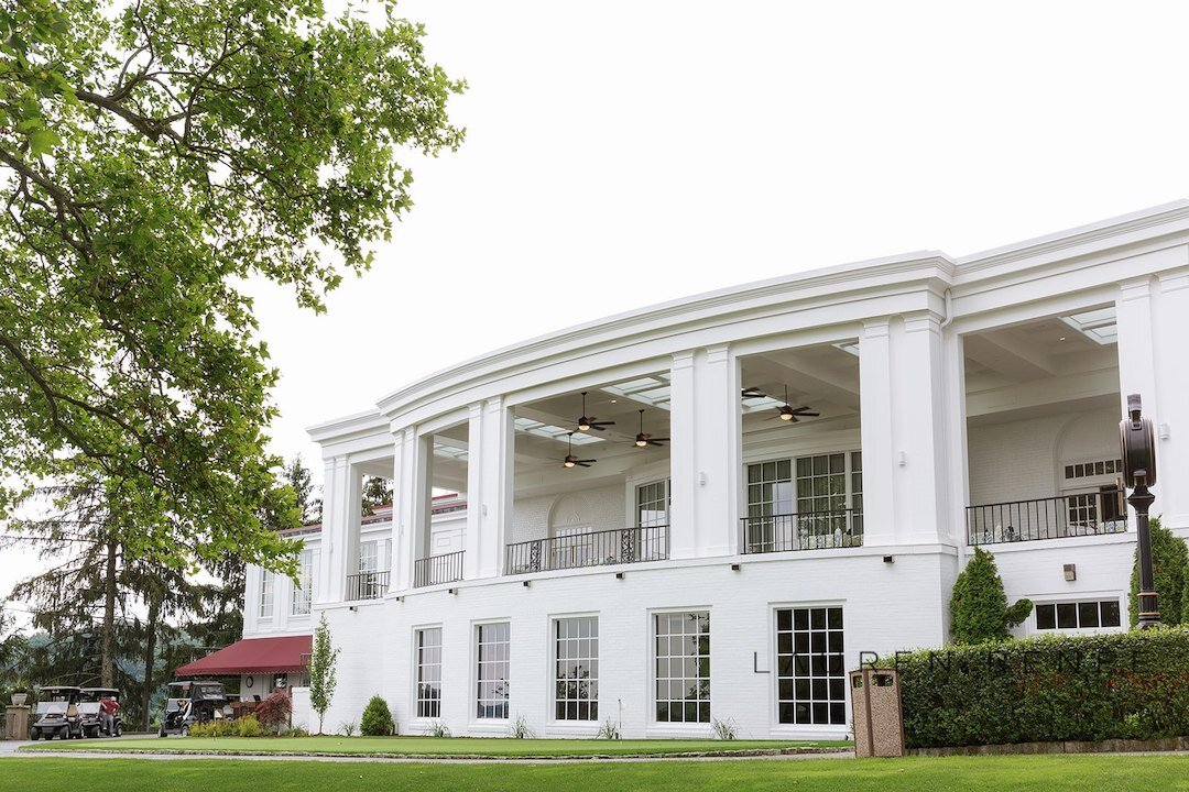Luxury wedding venue: Romantic Blush Wedding at the Pittsburgh Field Club planned by Exhale Events. See more at exhale-events.com!