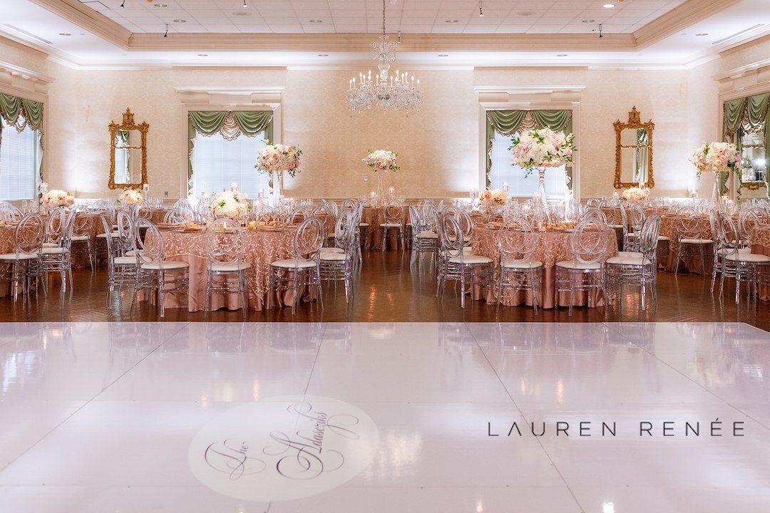 Fairtytale wedding venue: Romantic Blush Wedding at the Pittsburgh Field Club planned by Exhale Events. See more at exhale-events.com!