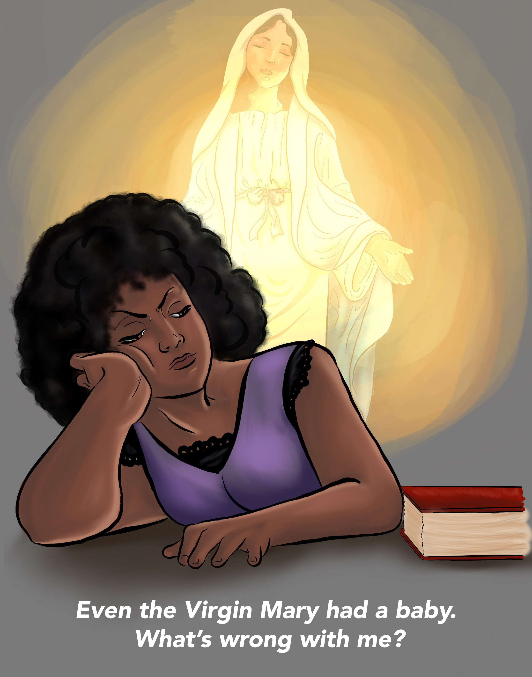 In-Fertility & Friendship Cards: Imagined by Sue Johnston www.theinfertilityadvocate.com Illustrated by Madeleine Kimble www.ByMadeleineKimble.com