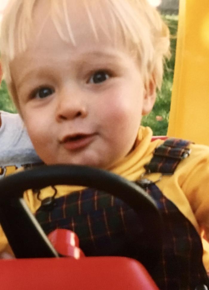 Scott at 18 months.