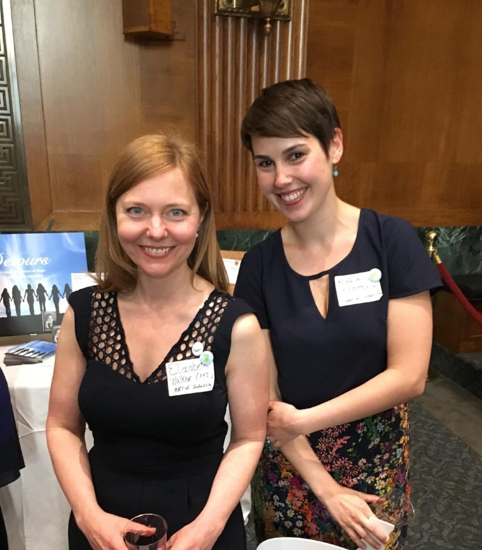 Elizabeth Horn Walker and Maria Novotny Art of Infertility Co-Directors.