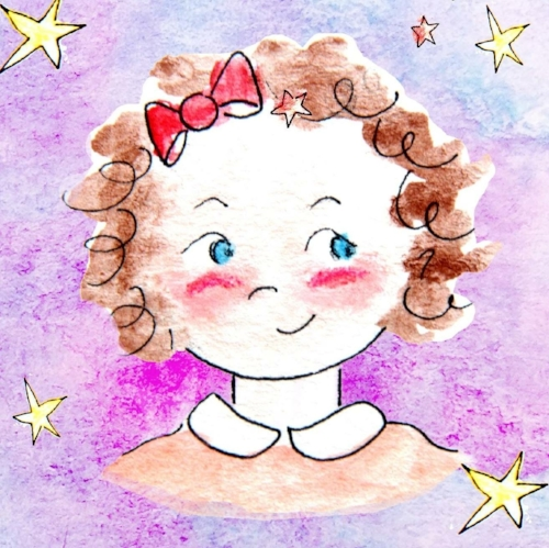 Ella as illustrated in   Dancing on Daddy's Shoes