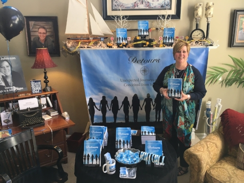I was so thrilled to launch   Detours  and sold 46 copies on the very first day, March 11, 2017.
