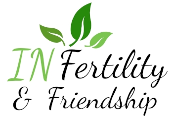 This is the logo I created for my blog and my line of fertility support cards. I use it as a closing to each of my blog posts.