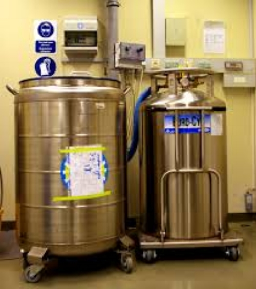 This is a photograph of liquid nitrogen tanks similar to what malfunctioned in two separate parts of the country this week.