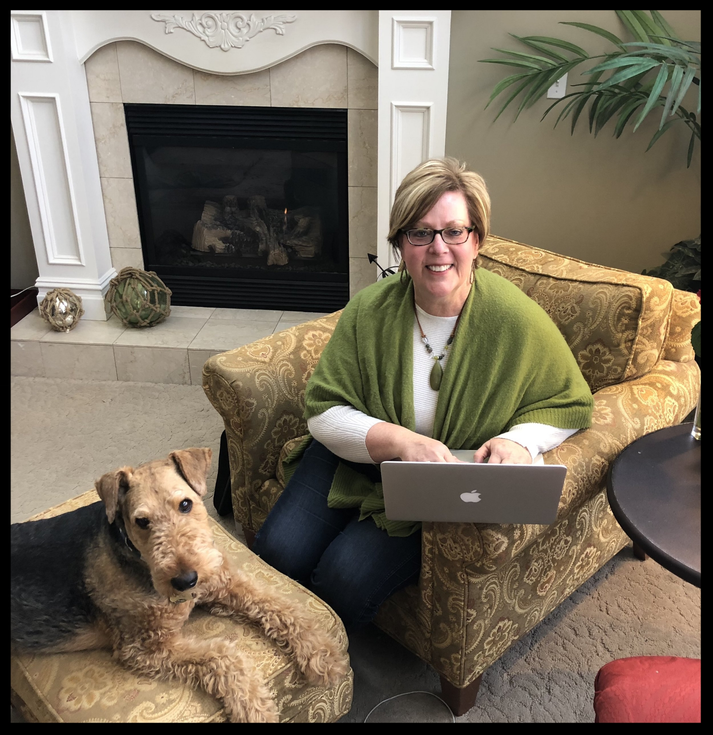 My dog, Griff, is helping me while I write my blog. Everyone should have such a wonderful helper! Please check out my posts and feel free to comment. I appreciate YOU!