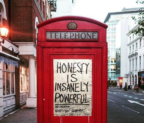Leek leaves notes all over London. Now his random inspirational messages are spreading to other cities throughout the world.