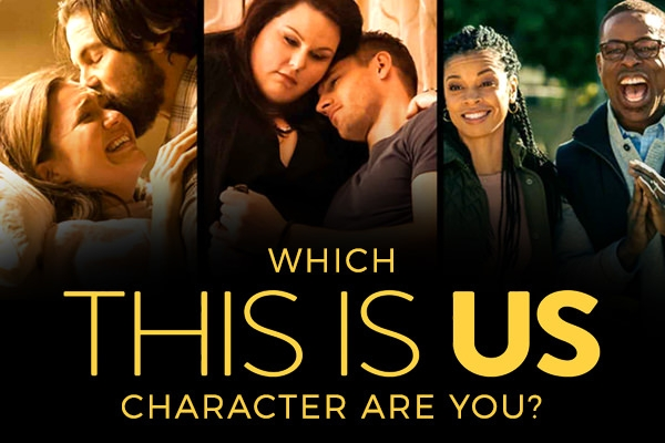 Images of the characters in the TV Series  This Is Us.