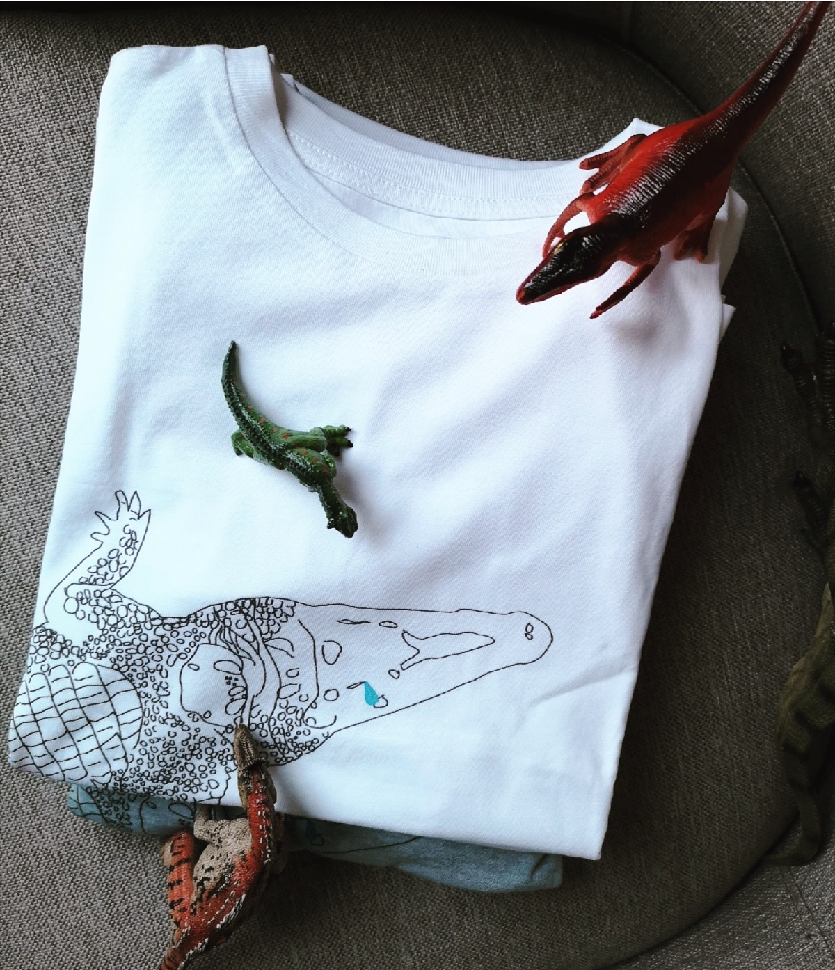 Tshirt Crocodile ENFANT - 30 €