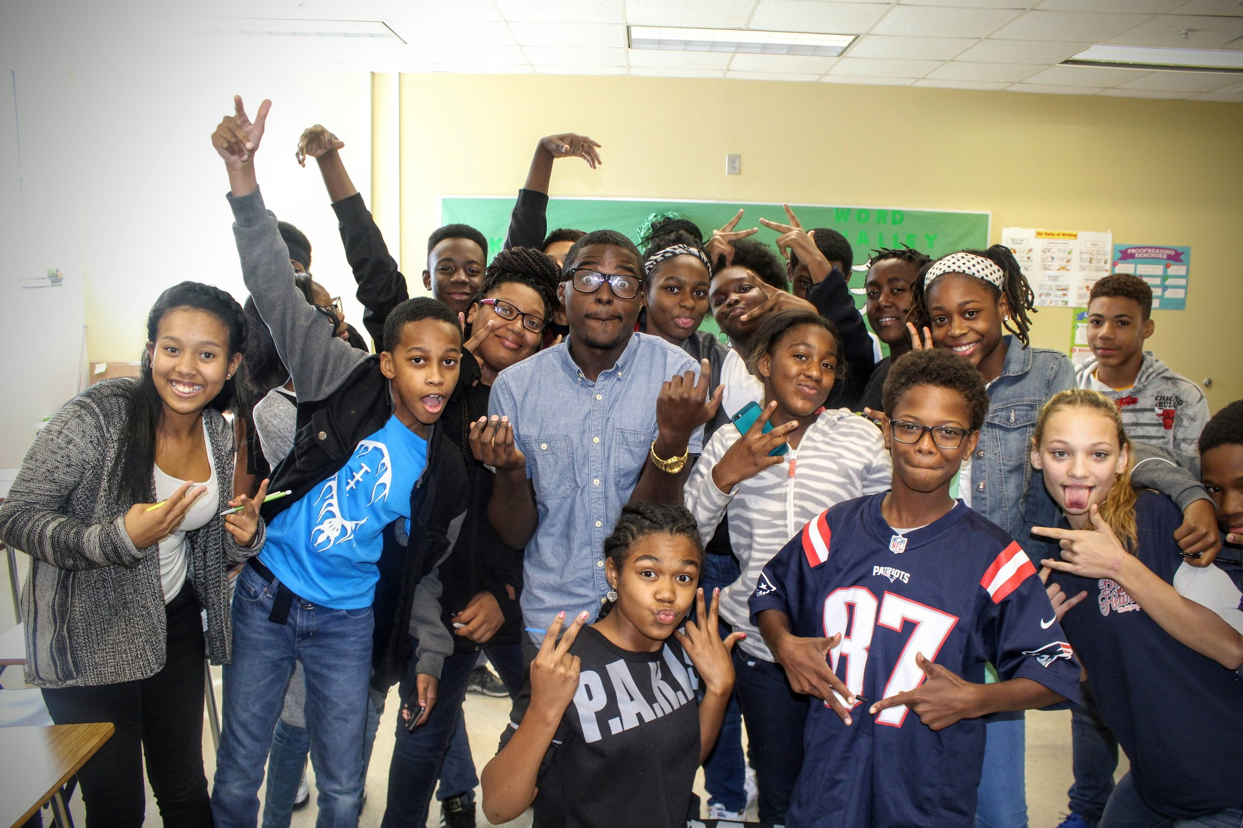 STEM Is The New Black visits Howard Middle School 2016 (Macon, GA)