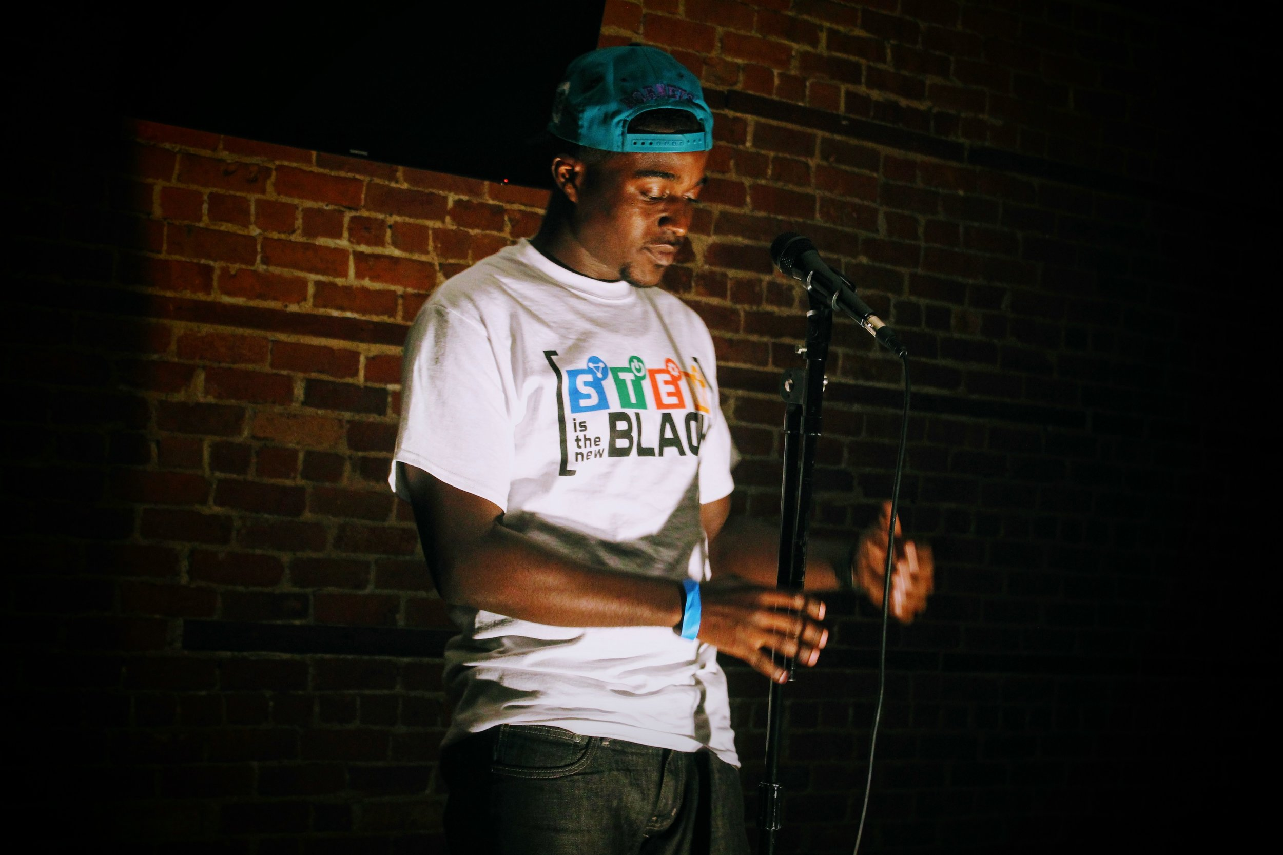 STEM Is The New Black x They Say Open Mic Night (Detroit, MI)