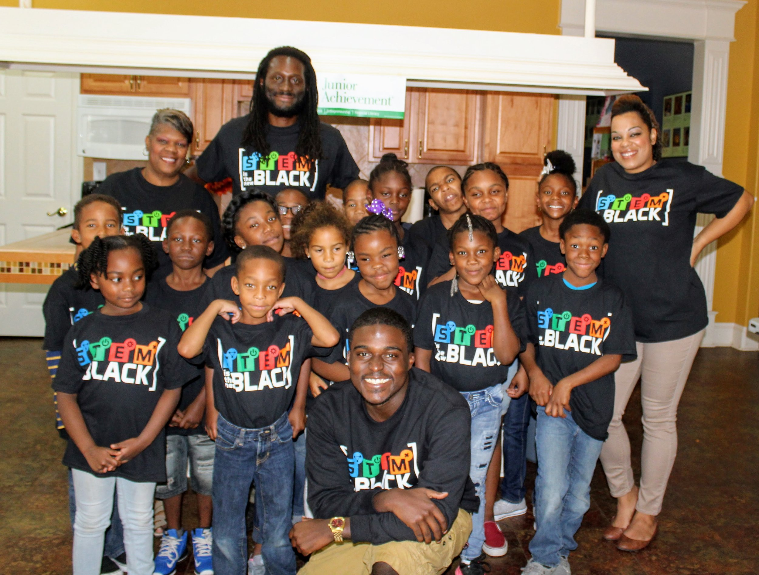 STEM Is The New Black x Brandon House Dream Starters Program (Little Rock, AR)