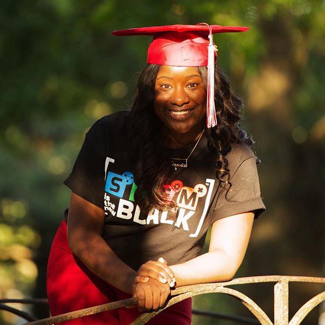 🎓🎓Waiting on graduation like ....... #3days #RunMeMyDegree #stemisthenewblack 👩🏾🎓@xquonciaaa 📷: @ydphotoandart #STEMIsTheNewBlack 📚📐💡🔬💻 • • • • • • #STEMIsTheNewBlack  #ReshapingTheCulture #NotYourAverageStatistics  #STEM #Science #Technology #Engineering #Math #HBCU #HBCUNation #HBCUWallStreet #BuildCommunityThroughLove #MinoritiesInSTEM #NSBE #AISES #SHPE #SWE #AISES  #WGMIH #STEMedia