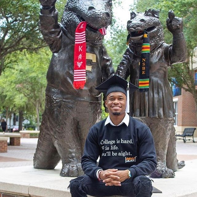 📚College Is Hard✏️ 💻So Is Life⚙️ 🎓You'll Be Aight💵 • Congratulations @benfinessed!! 👌🏿🇯🇵🎓♦️ #STEMIsTheNewBlack 📚📐💡🔬💻 • • • • • • #STEMIsTheNewBlack  #ReshapingTheCulture #NotYourAverageStatistics #UF #UniversityOfFlorida #STEM #Science #Technology #Engineering #Math #HBCU #HBCUNation #HBCUWallStreet #BuildCommunityThroughLove #MinoritiesInSTEM #NSBE #AISES #SHPE #SWE #AISES #WGMIH #STEMedia #BlkInGradSchool