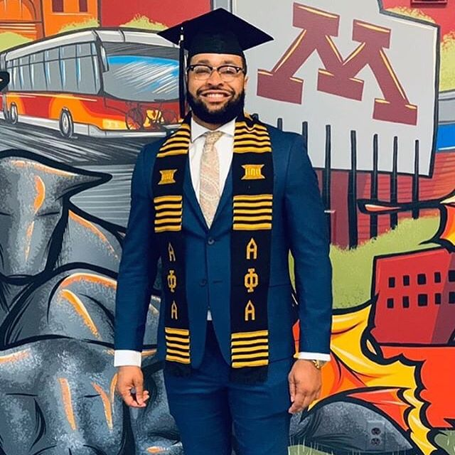 "🎓🎓 ""I wasn't born with this sawse, you gotta acquire this seasoning- Wop • • @dhamondeck • Over 200 hours of class, 100 happy hours, 88 classmates, 66 credit hours, 40 group projects, dozens of intramural sports games lost, 2 years, and 1 degree later, you can call me Damon Hamilton, Master of Business and Administration. Thank you to my @carlsonmba family for filling the last two years with a lifetime of memories"" #STEMIsTheNewBlack 📚📐💡🔬💻 • • • • • • #STEMIsTheNewBlack  #ReshapingTheCulture #NotYourAverageStatistics #UniversityOfMinnesota #AlphaPhiAlpha #STEM #Science #Technology #Engineering #Math #HBCU #HBCUNation #HBCUWallStreet #BuildCommunityThroughLove #MinoritiesInSTEM #NSBE #AISES #MBA #SHPE #SWE #AISES #WGMIH #STEMedia #BlkInGradSchool"