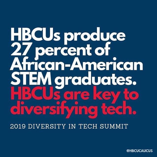 Protect. Invest. Respect. HBCUs. ✊🏽✊🏾✊🏿 S/o: @hbcualum  #STEMIsTheNewBlack 📚📐💡🔬💻 • • • • • • #STEMIsTheNewBlack  #ReshapingTheCulture #NotYourAverageStatistics #STEM #Science #Technology #Engineering #Math #HBCU #HBCUNation #HBCUWallStreet #BuildCommunityThroughLove #MinoritiesInSTEM #NSBE #AISES #MBA #SHPE #SWE #AISES #WGMIH #STEMedia #SheTooSTEM #BlkInGradSchool