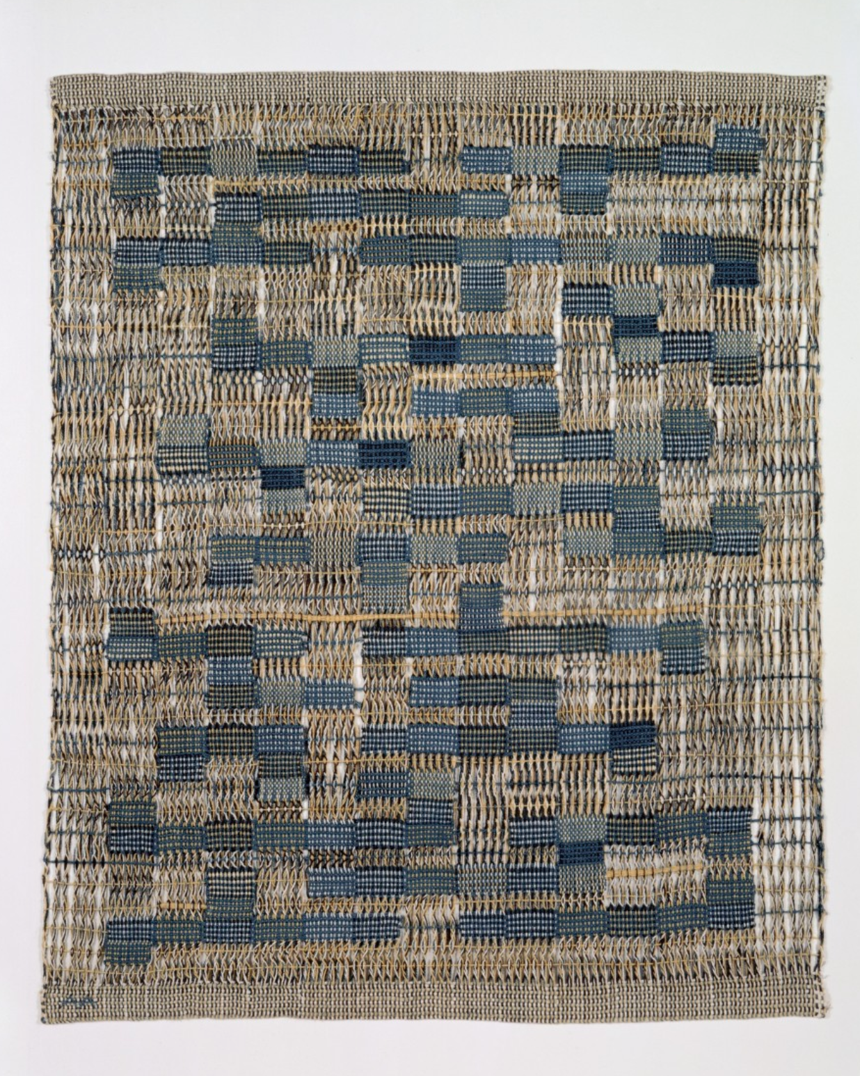 Anni Albers woven swatch