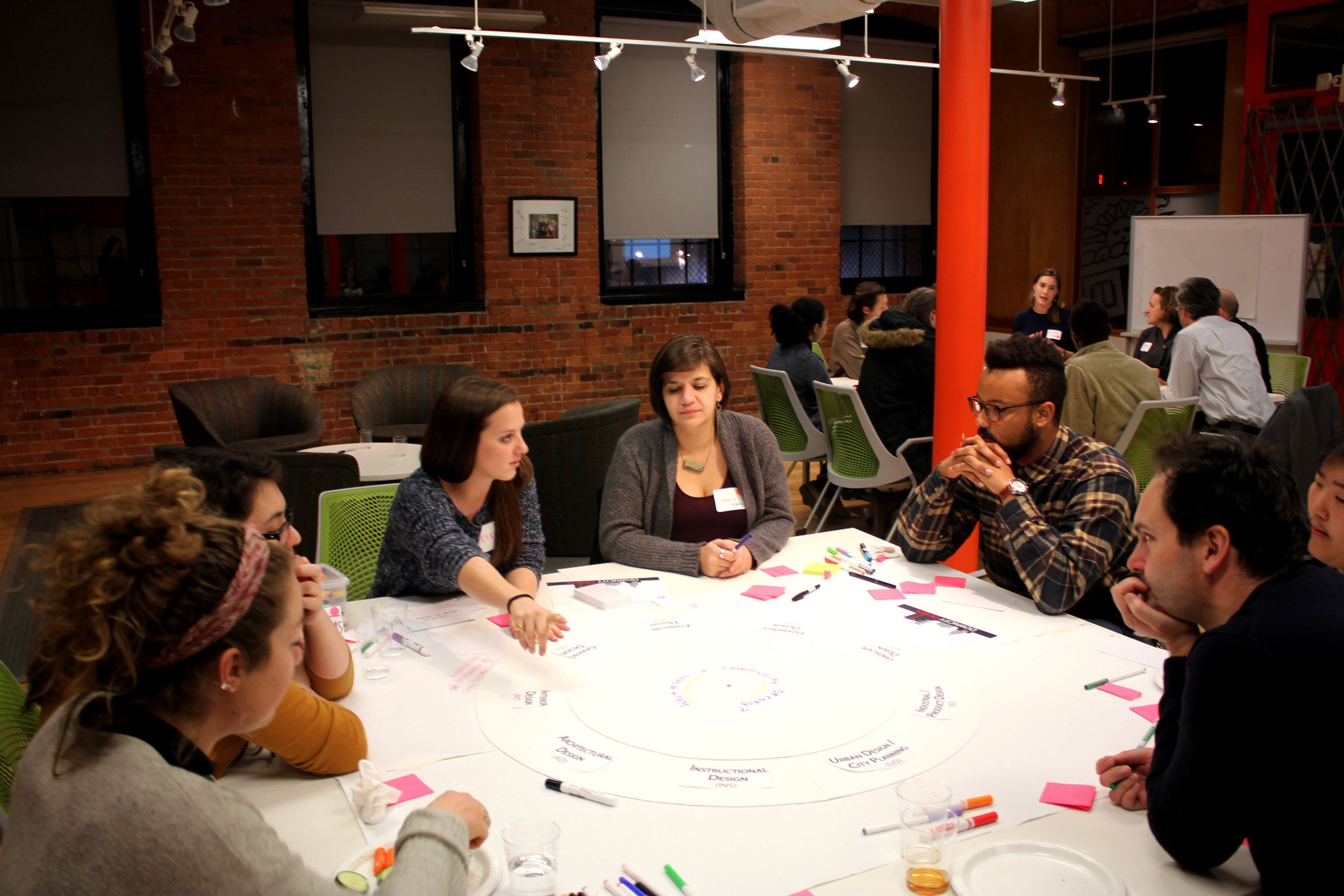 Imagine With Us - The design process in the hands of conscientious community members can help address pressing issues, amplify stakeholder voices, and illuminate new paths forward.Are you working on innovative solutions for Rhode Island communities?