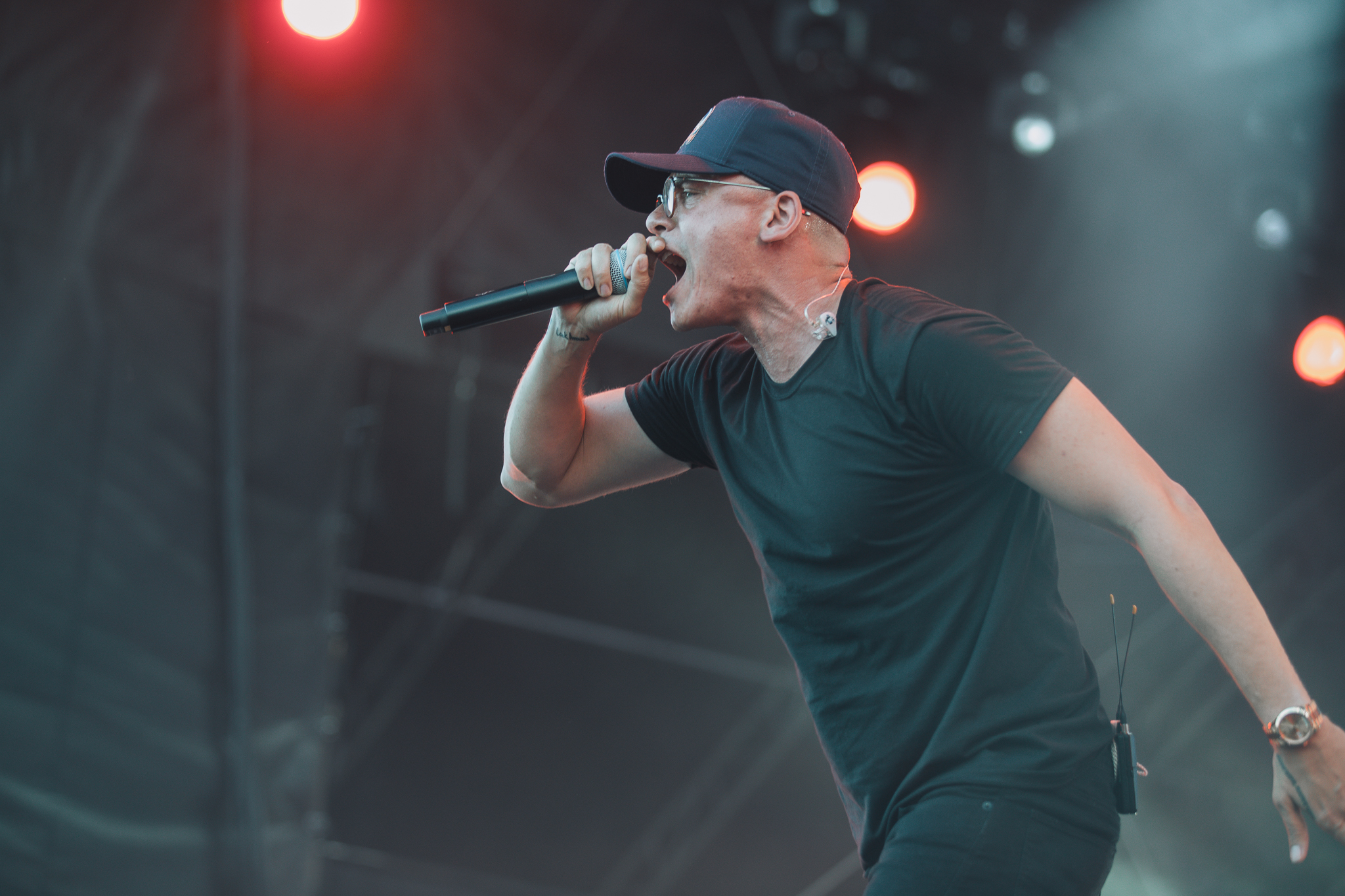 Laura Ord Photography | Austin, TX Concert Photography | Logic at Hangout Music Fest in Gulf Shores, AL