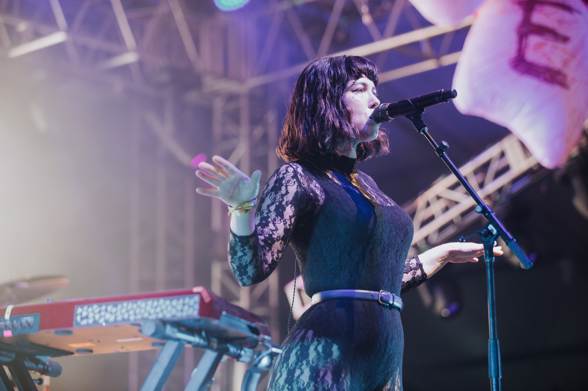Laura Ord Photography | Austin, TX Concert Photography | Grouplove at Hangout Music Fest in Gulf Shores, AL