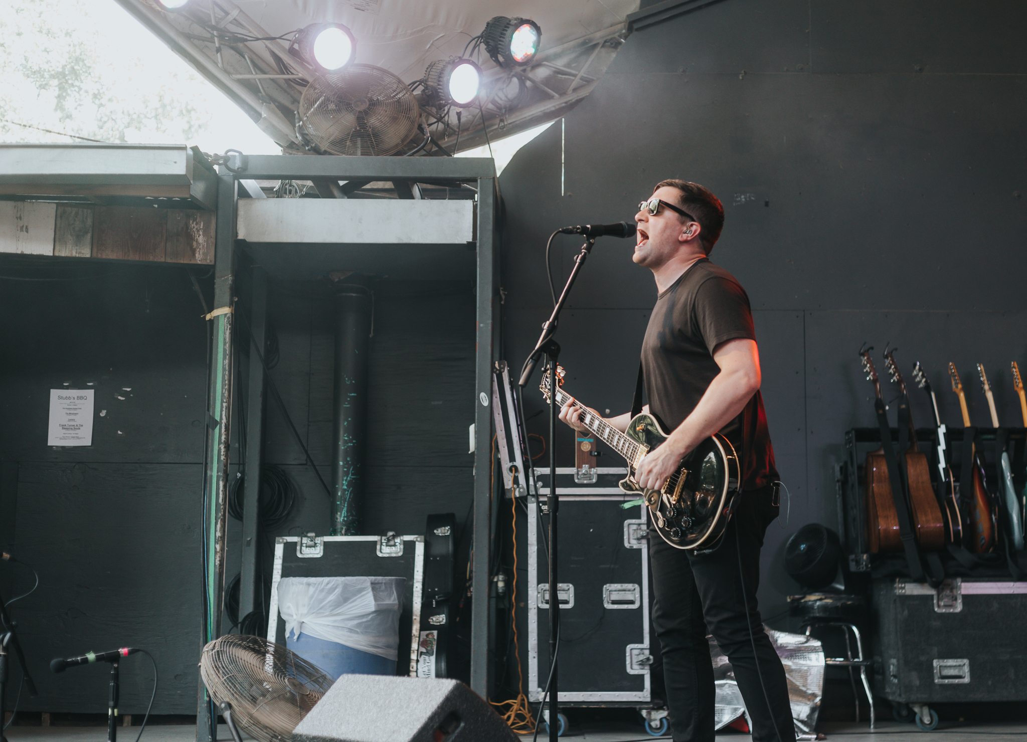 THE MENZINGERS PERFORMING AT STUBB'S IN AUSTIN, TX ON JUNE 13, 2018 PROVIDING SUPPORT FOR FRANK TURNER.