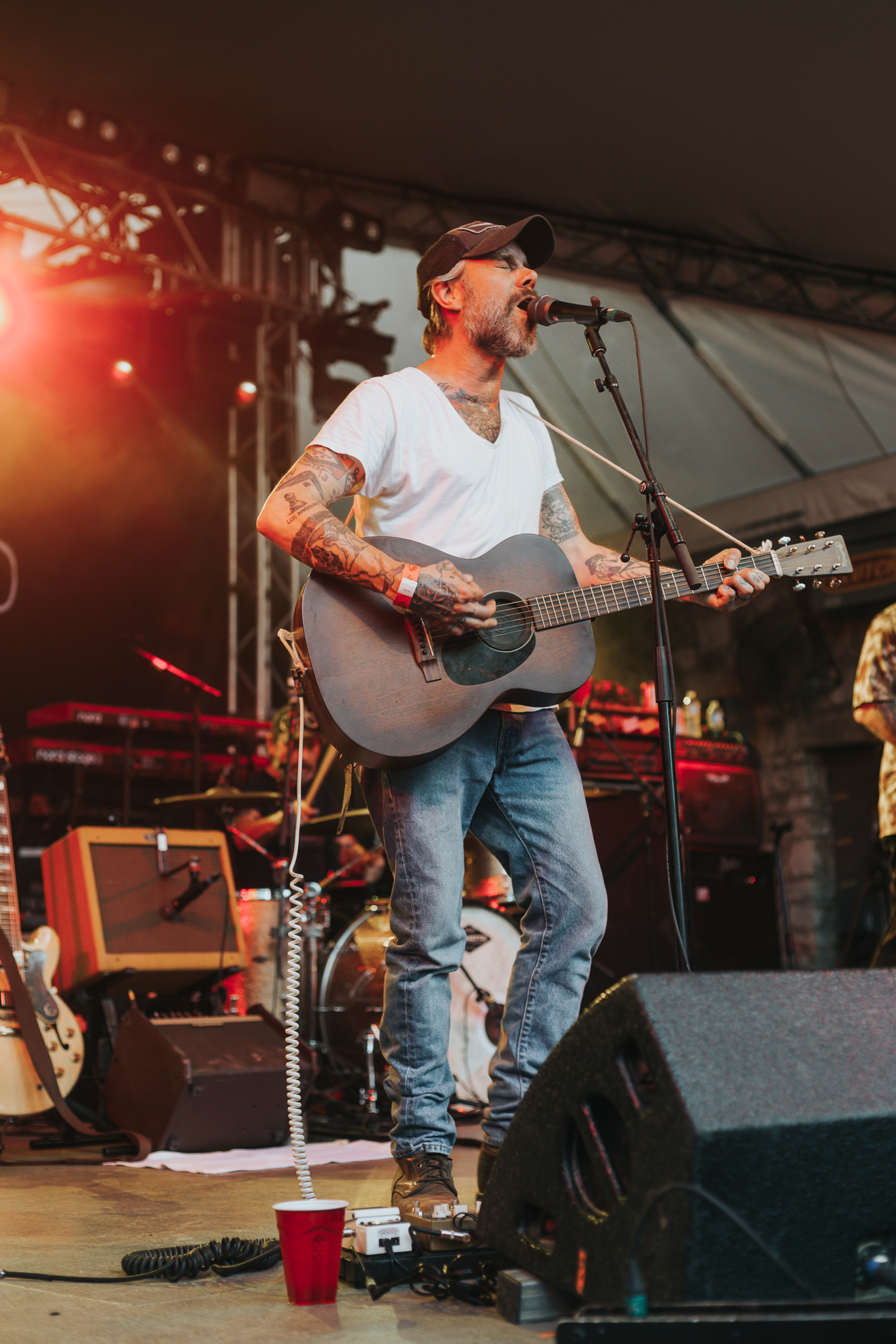LUCERO PERFORMING AT STUBB'S IN AUSTIN, TX ON JUNE 13, 2018 PROVIDING SUPPORT FOR FRANK TURNER.