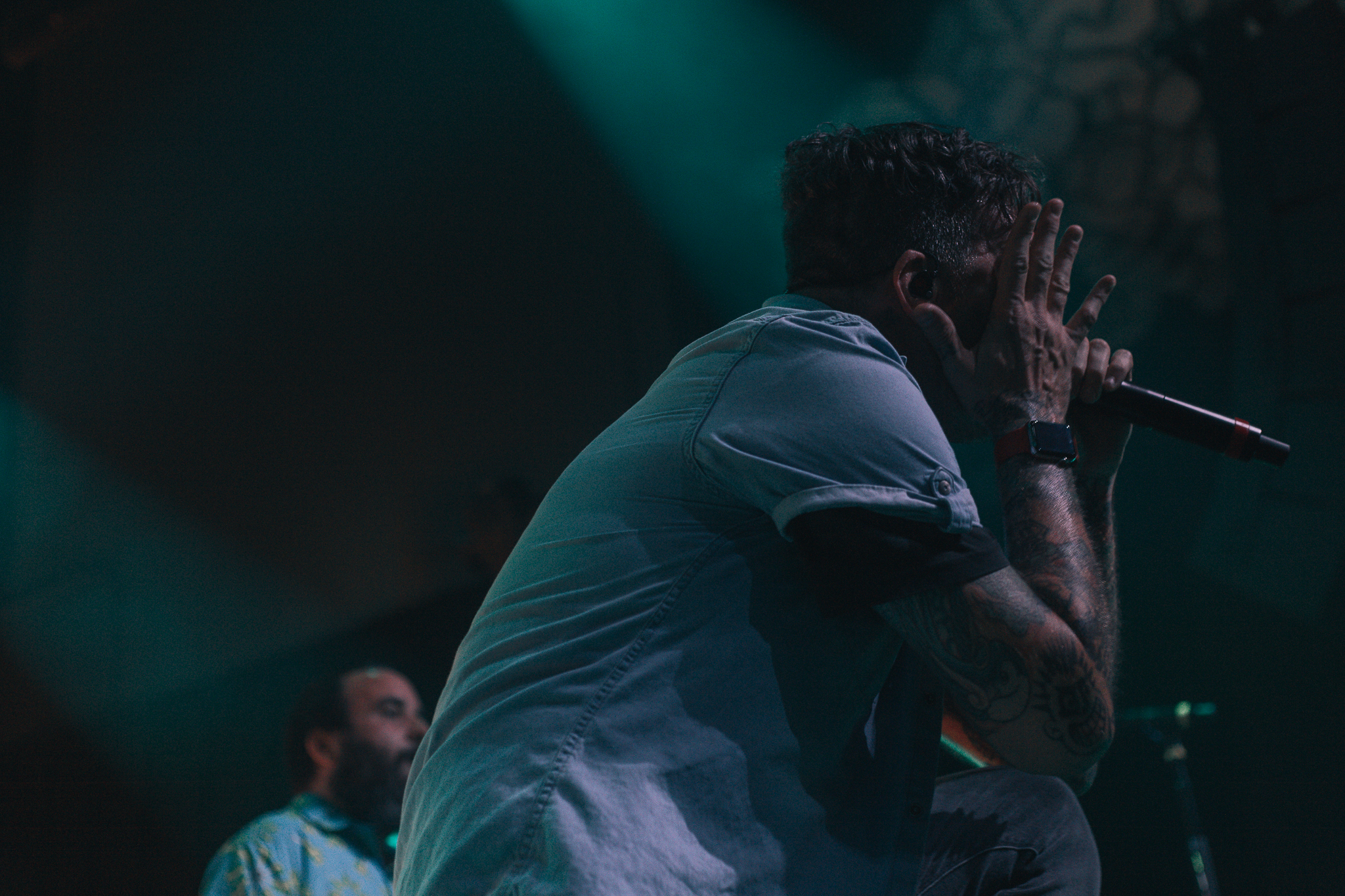 NEW FOUND GLORY PERFORMING AT EMO'S IN AUSTIN, TX ON JUNE 21, 2018.