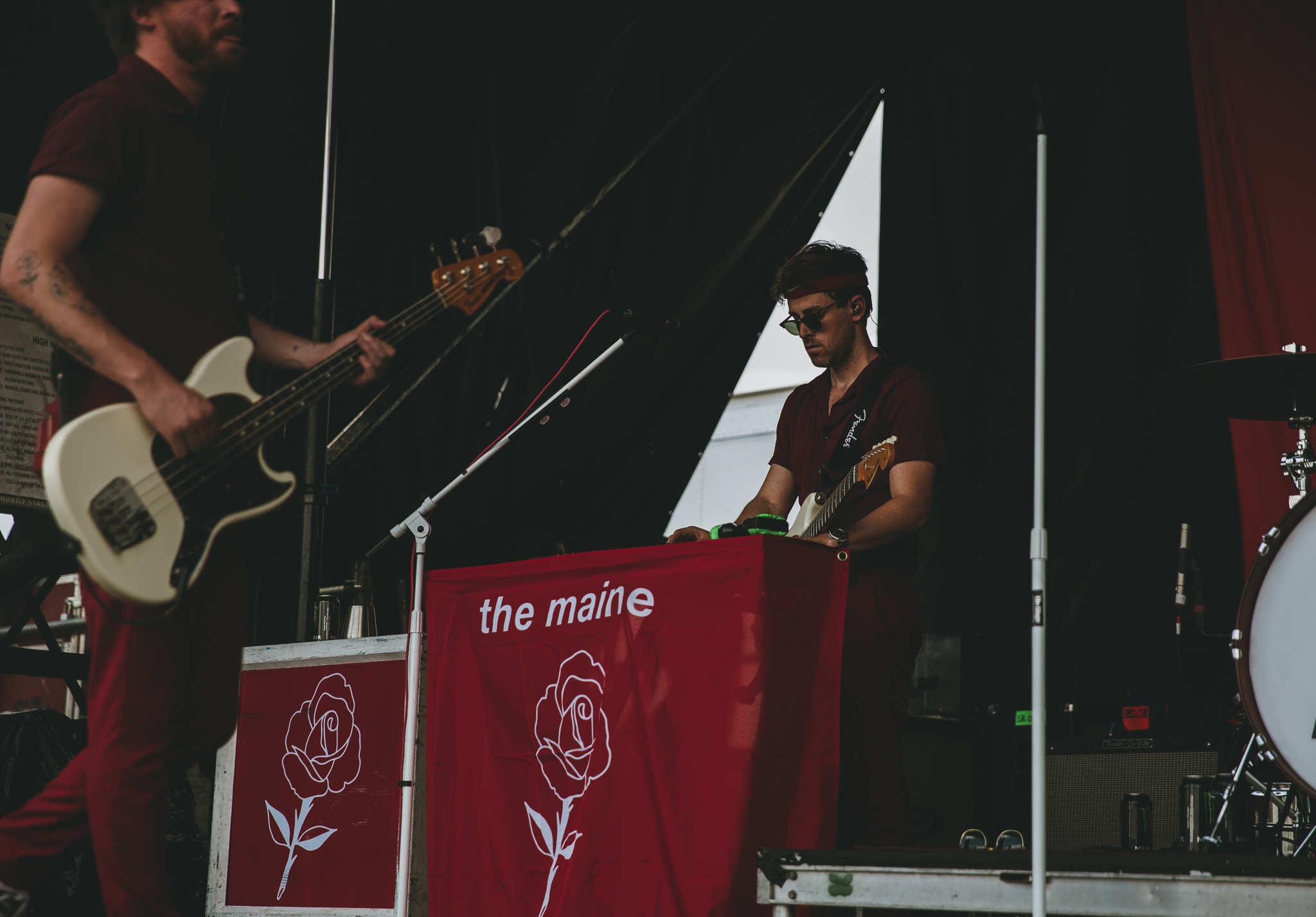 THE MAINE PERFORMING AT VAN'S WARPED TOUR IN SAN ANTONIO, TX ON JULY 07, 2018.