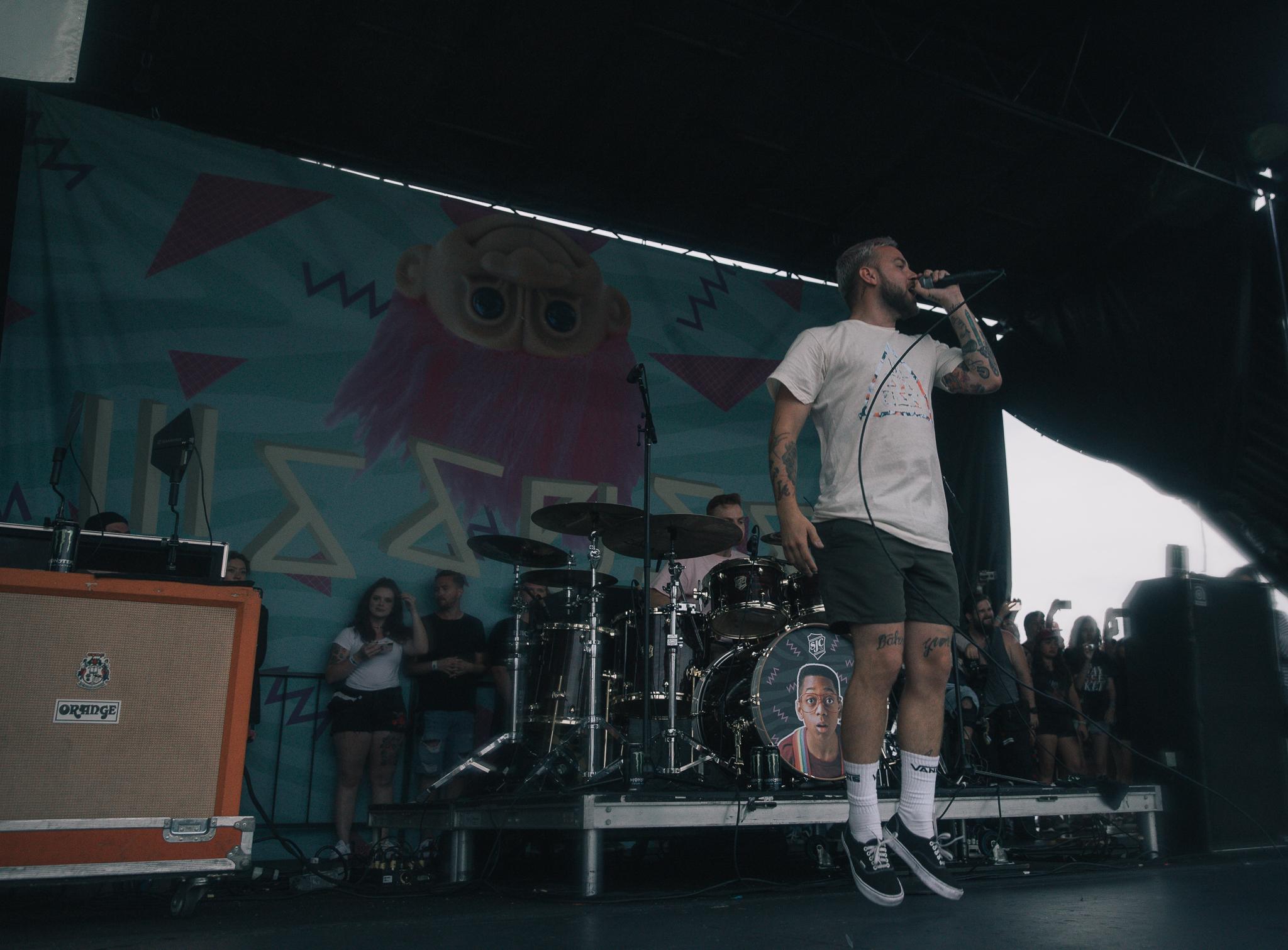 ISSUES PERFORMING AT VAN'S WARPED TOUR IN SAN ANTONIO, TX ON JULY 07, 2018.