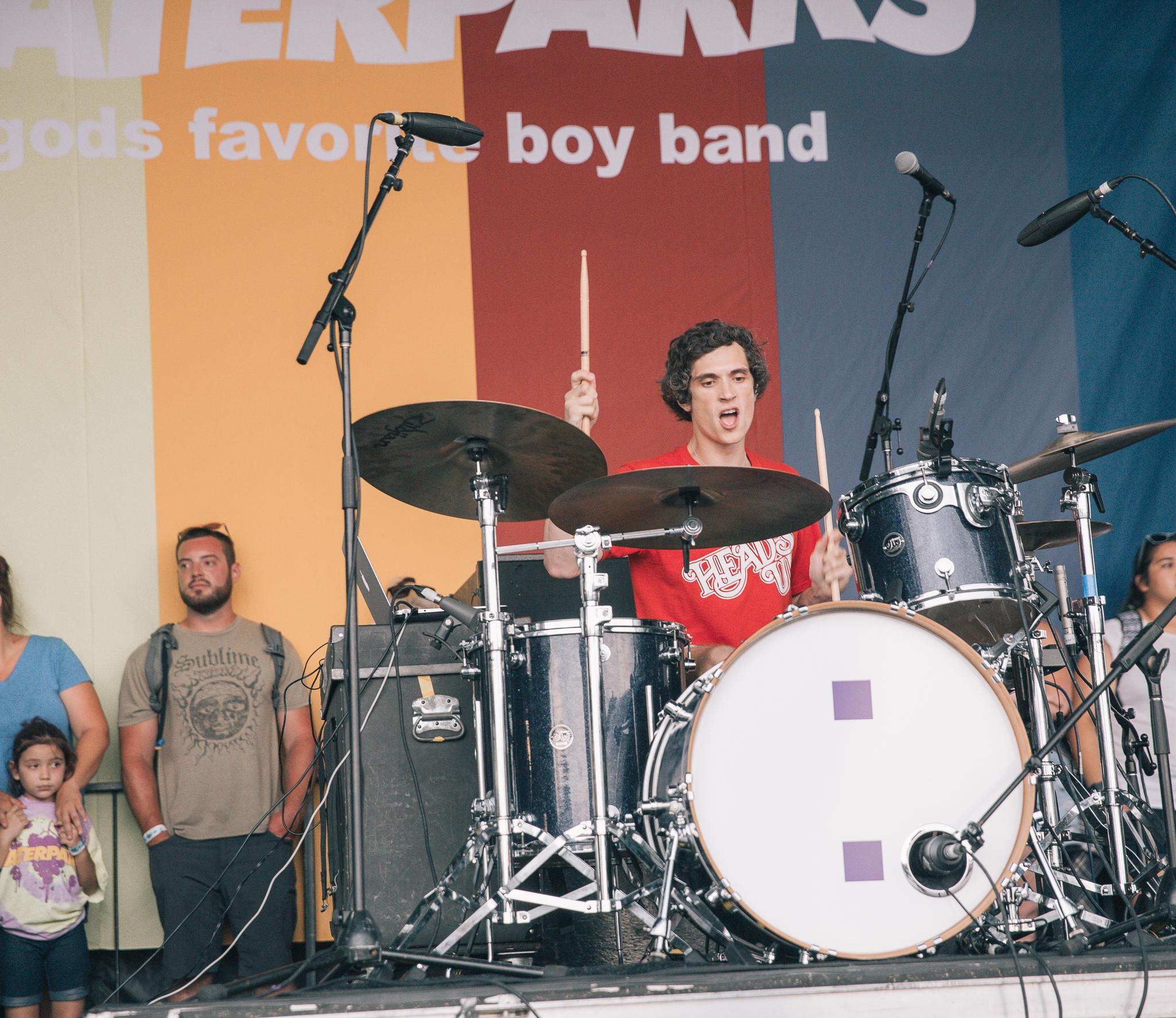 Waterparks at Warped Tour 2018 in San Antonio, TX.