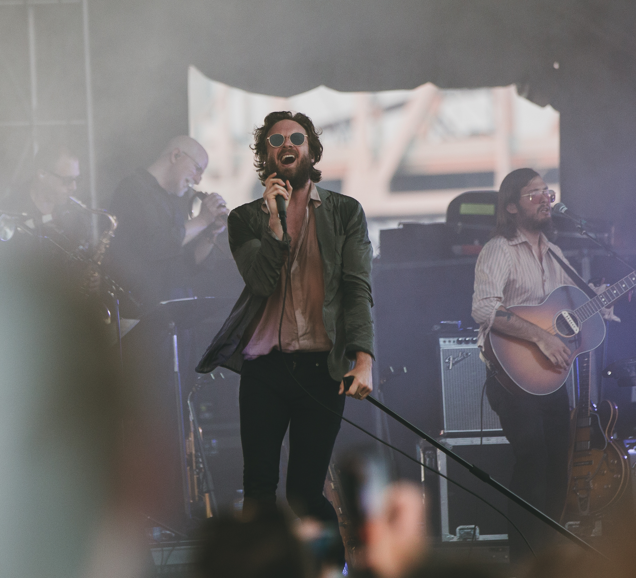 Father John Misty at Forecastle Festival in Louisville, KY