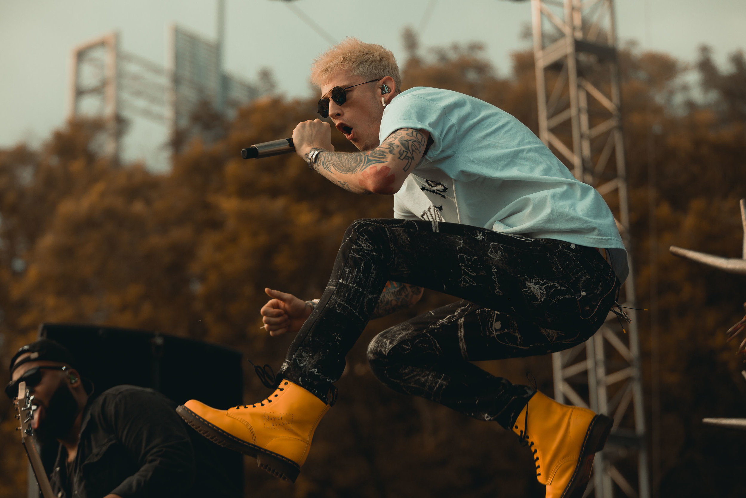 Machine Gun Kelly at Bunbury Music Festival