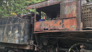 "Eagle Lake and West Branch Railroad ""Ghost Trains"" - Allagash Waterway, Maine"