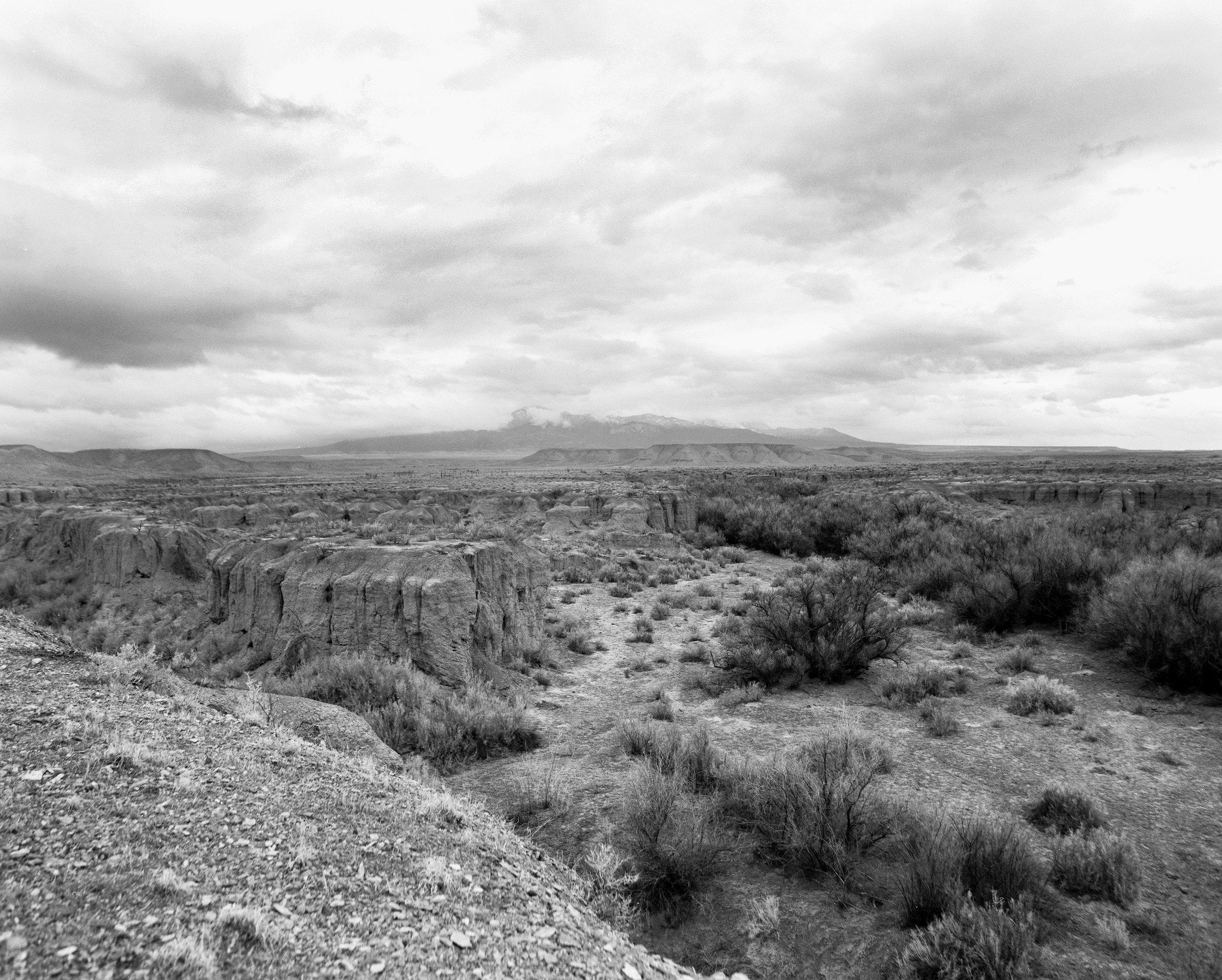 B&W Utah Canyon