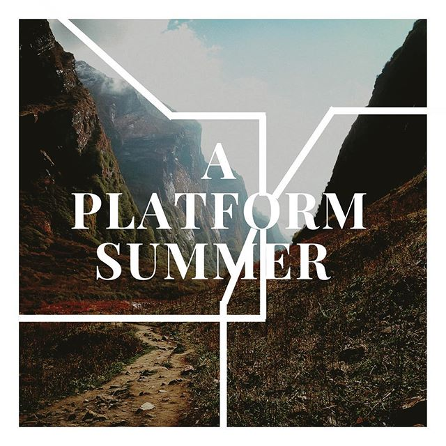 We are gearing up for the summer // This Sunday is our last regular Platform before we start summer programming. Come out to hear all the exciting stuff we are up to in the next few months!  Hikes, ultimate frisbee, video games, prayer walks, worship nights, book clubs, and bible studies. See you at 7:00!
