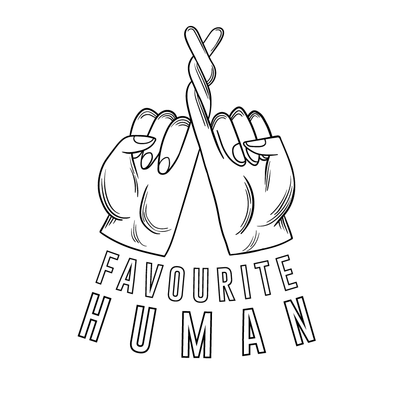 Logo for Favourite Human blog