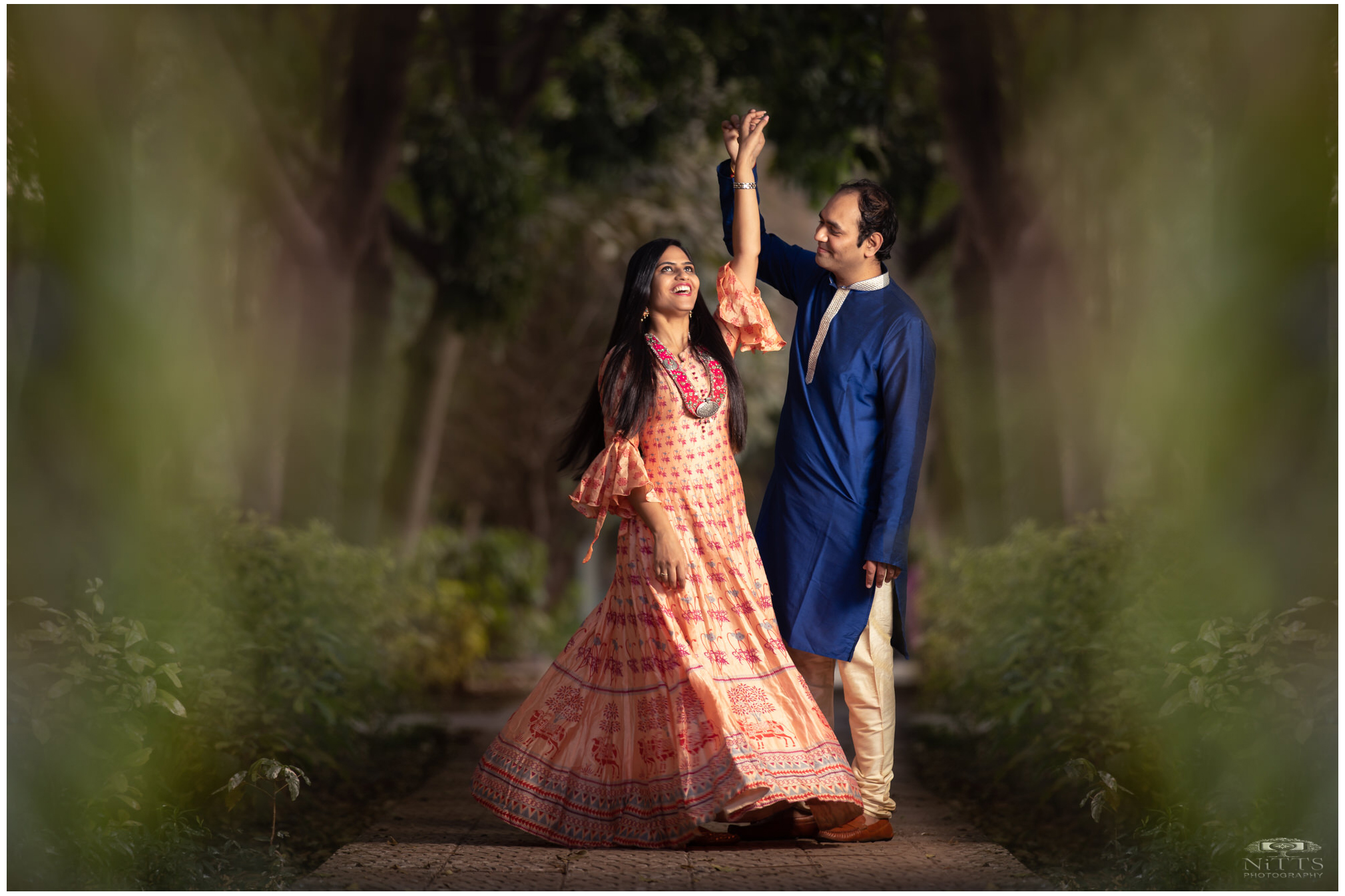 Twirling bride_Monsoon_forest_prewedding_couple_natural_light -9.jpg
