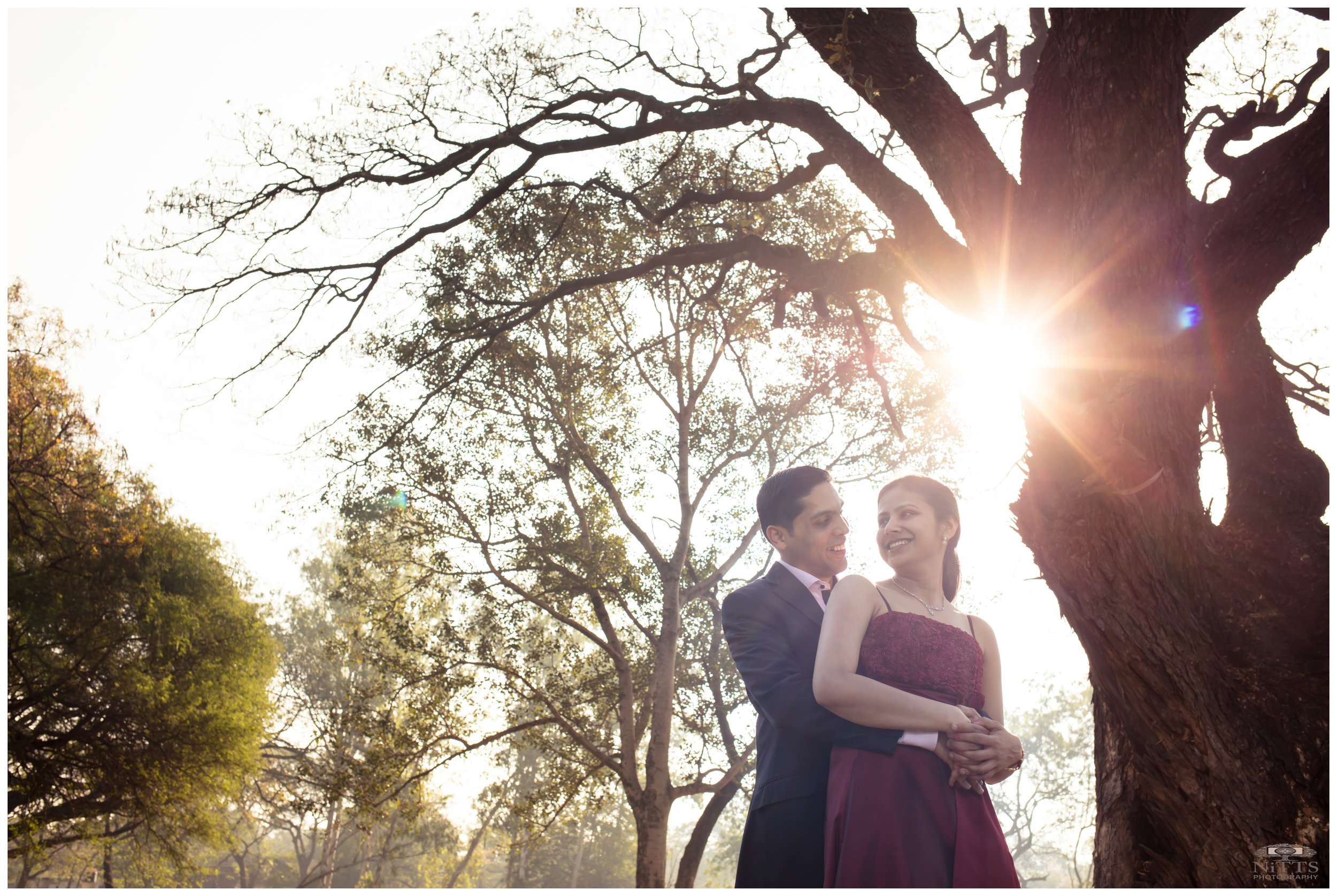 Back-lit Couple Portrait - Pre-wedding.JPG