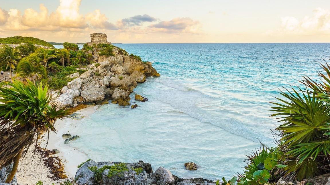 Mayan ruins.
