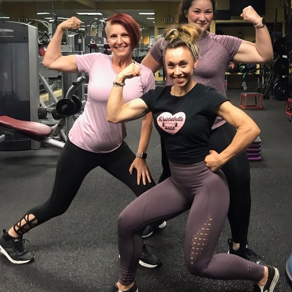 @kristabellexoxo @lovechels93 @bar2cleanliving Some of our ladies from A.F having some fun and killing the pump game! 💪🏻 keep it up!!! . . . . #gym#sportscenter#fitnesscenter#trainers#personaltrainers#fitnessclub#neighborhoodgym#local#d#fitfam#fitnessgirl#weighttraining#trainhard#gainz#grind#beastmode#ladies