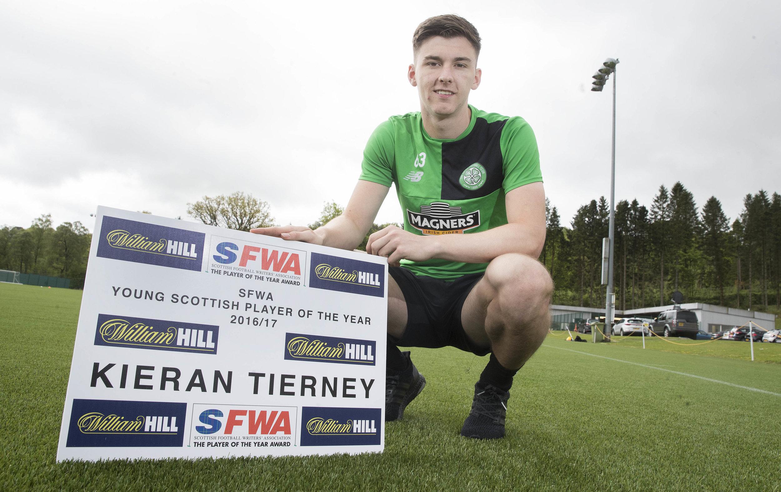 2017 Young Player Kieran Tierney